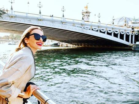 Модно в Париже.