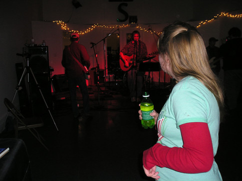 Silent Boys play First Fridays at Sound of Music recording studio