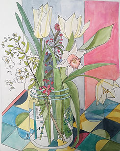 flowersinajar