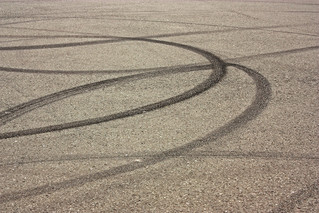 Laying Rubber in the Parking Lot