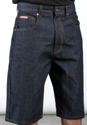 LOWRIDER Jean Shorts Blue Indigo