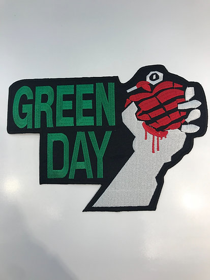 Green Day Large Patch