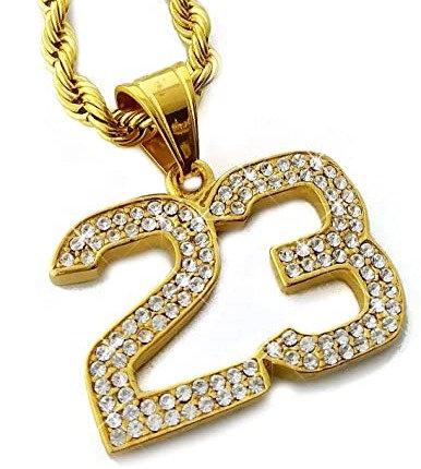 23 Pendant Chain Necklace