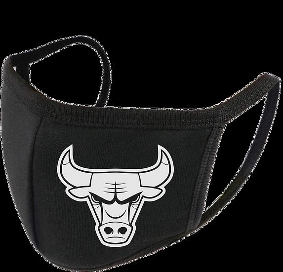 Bulls Face Mask