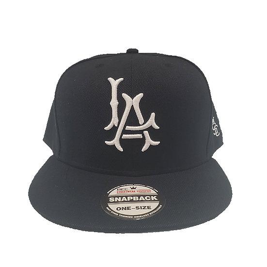 Snapback cap LA white