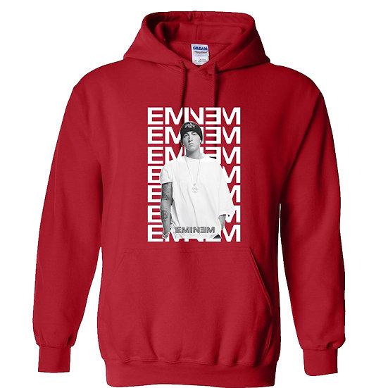 Eminem White Shirt Hoodie
