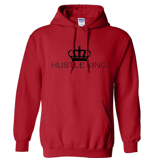 Hustle King Royal Crown Hoodie