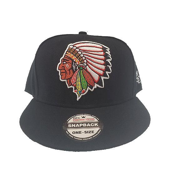 SnapBack Cap Chief'n Black