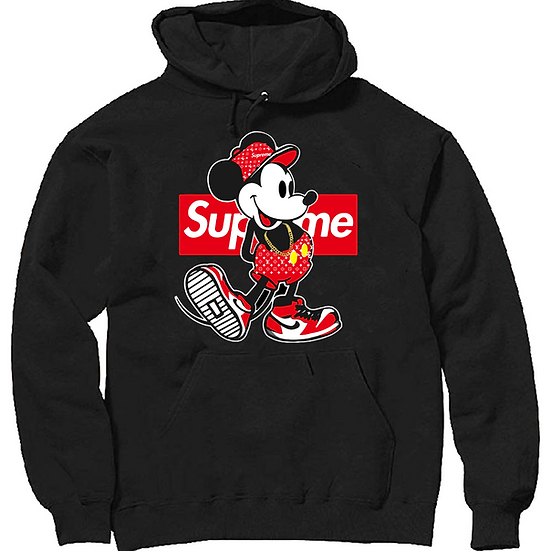 Mickey mouse supreme Hoodie