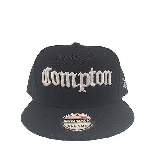 SnapBack Cap Compton Black