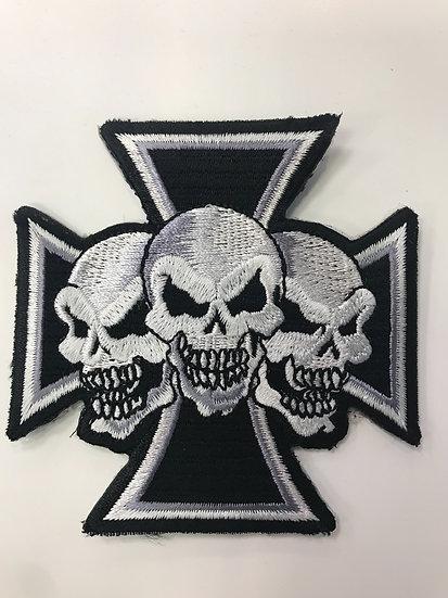 Skull Chopper Patch