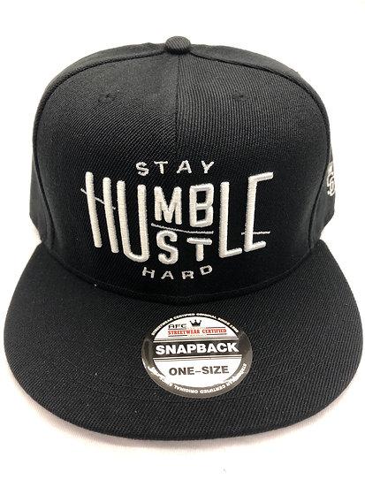 Hustle Humble Snapback Cap
