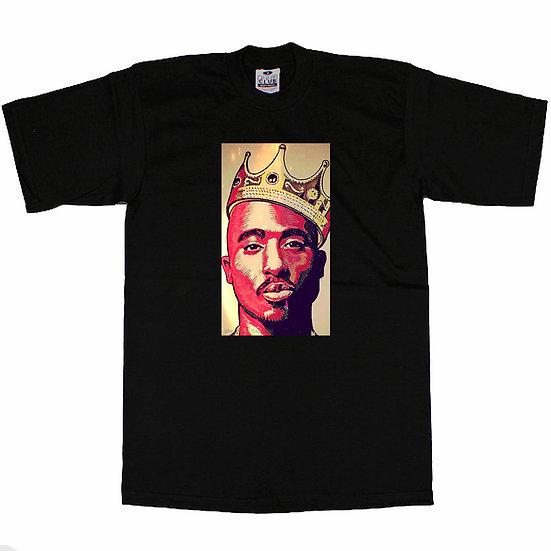 2Pac Crown T-Shirt