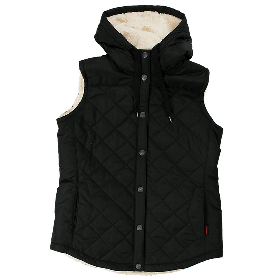 Tough Duck Women's Quilted Sherpa Lined Vest