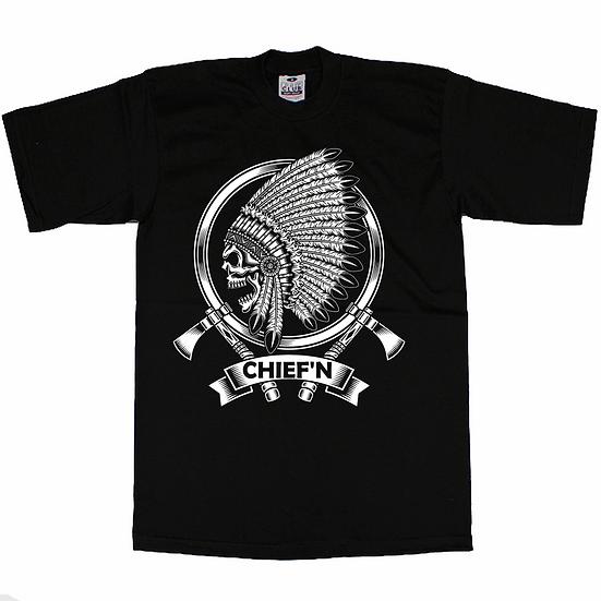 Skull  Cheifin T-Shirt