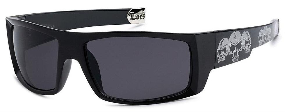 Locs Skull Sunglasses - 8LOC91025-SKL