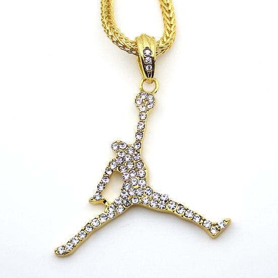 Jordan Pendant Chain Necklace