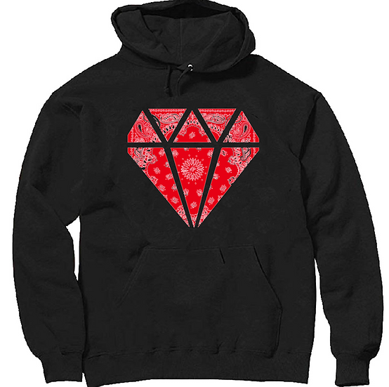 Red Flag Diamond Hoodie