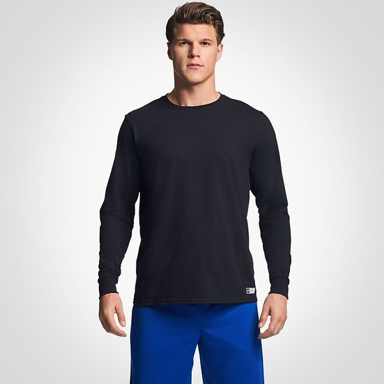 Russell Men's Long Sleeve Blend Tee