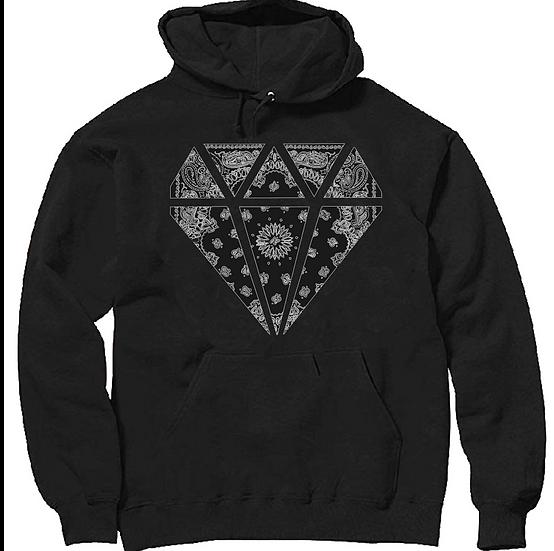 Black Flag Diamond Hoodie