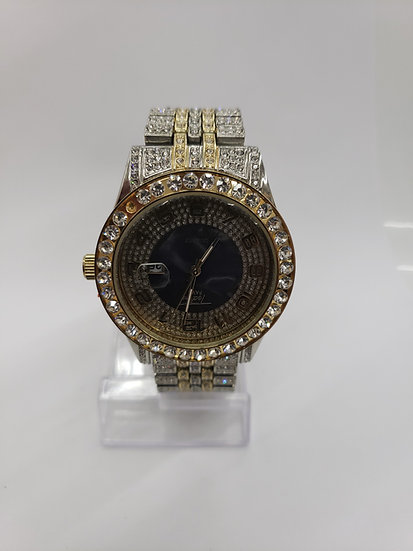 Gold and Silver watch S1