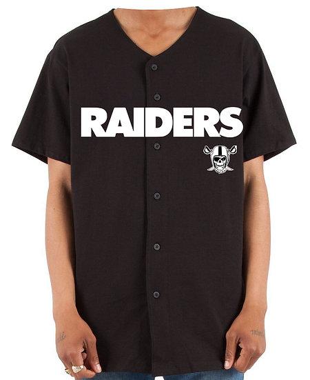 Raiders Baseball Jersey
