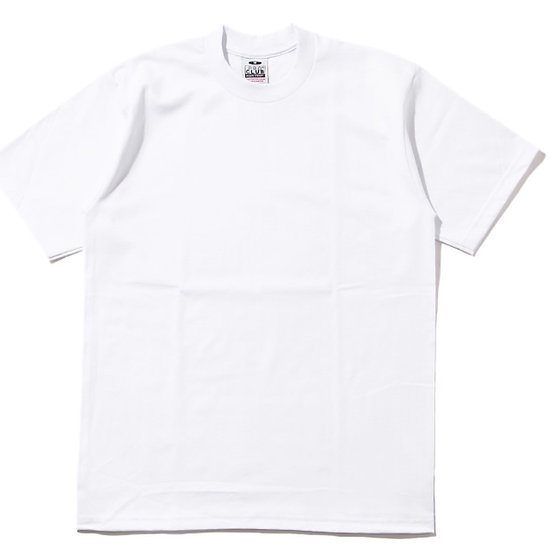 Plain T Shirt Big and Tall White