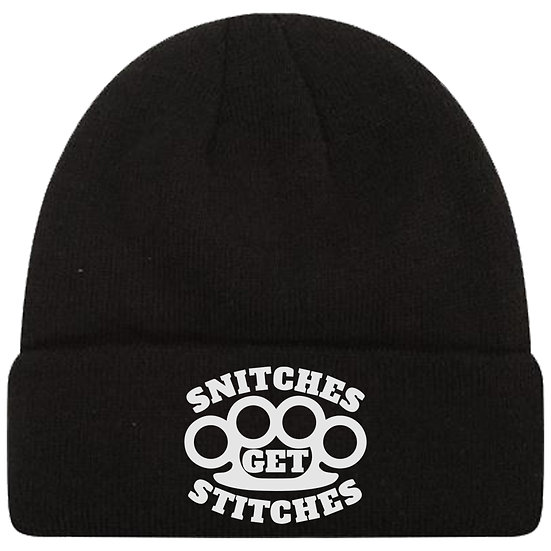 Snitches Get Stitches Toque