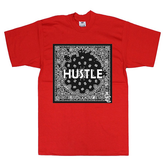Hustle Black Flag T-Shirt