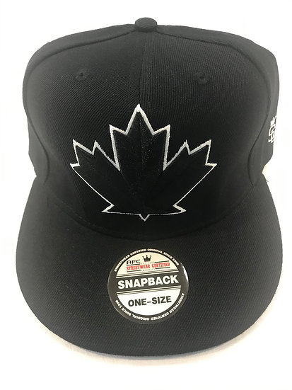 SnapBack cap Maple Leaf Black