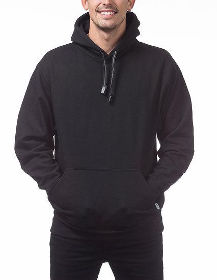 Proclub Heavyweight Pullover Fleece Hoodie Black