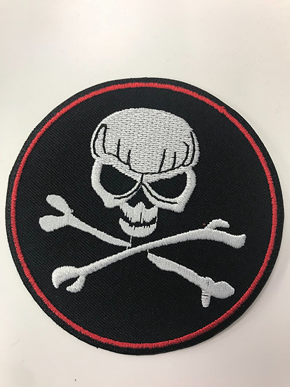 Skull Circle Patch