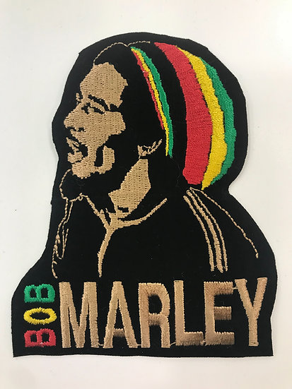 Bob Marley with hat patch