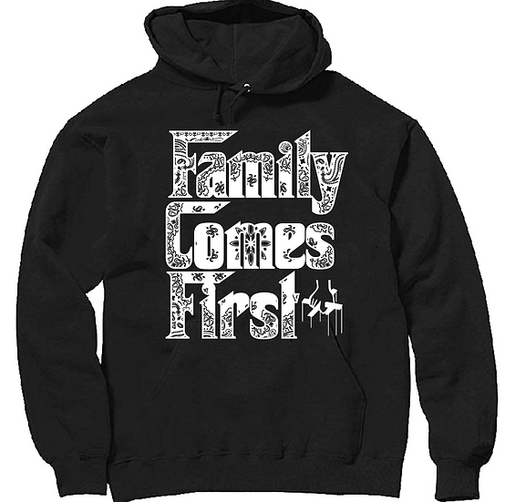 Family Comes first Hoodie