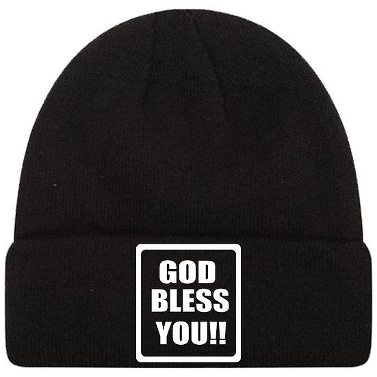 God Bless You Toque