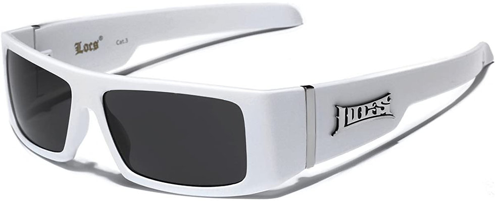 Locs Square Frame Sunglasses