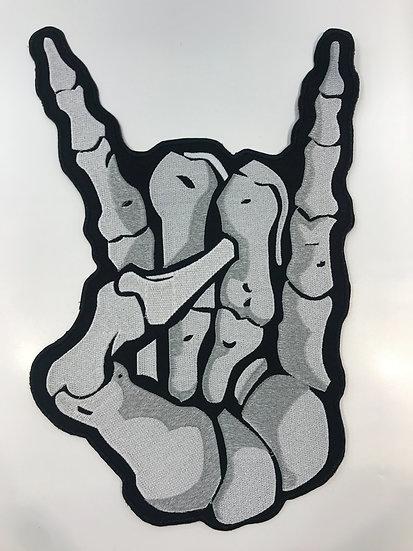 Rock On Skeleton Hand