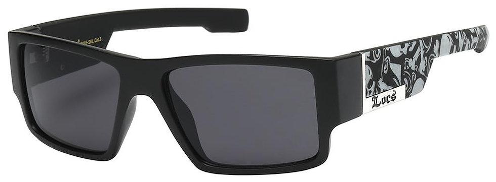 Locs Square Skull Sunglasses