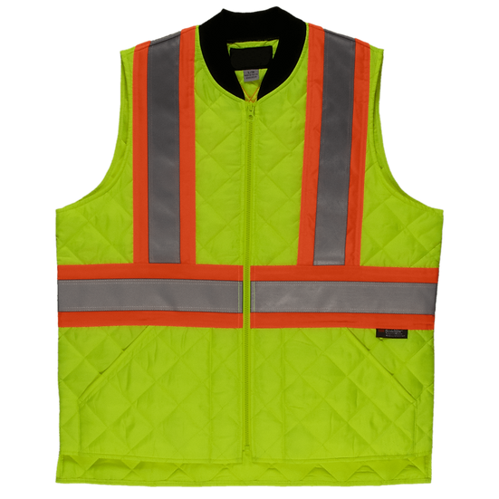 Quilted Safety Vest