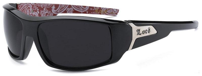 Locs Bandana Pattern Sunglasses