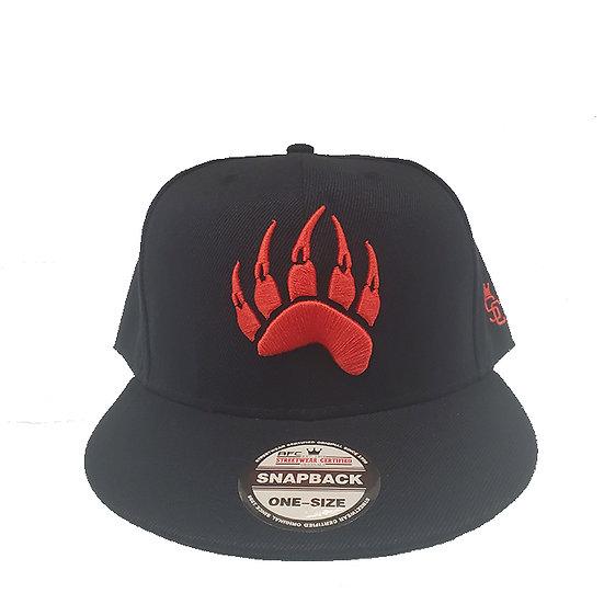 Snapback cap claw