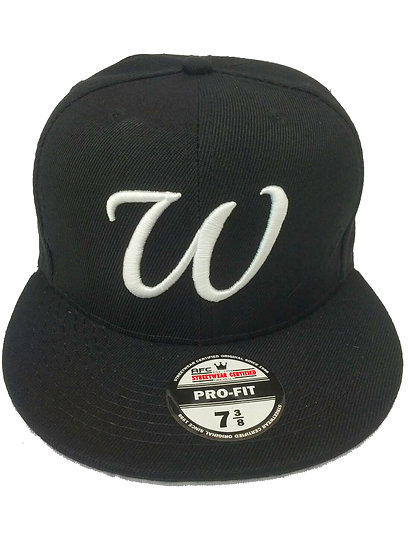 Pro-Fitted cap Letter W