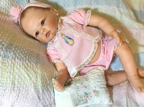 Reborn Romper Adorable Peter Rabbit Outfit