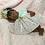 Thumbnail: Preemie Reborn Dress, Pink with Knit Bodice
