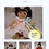 Thumbnail: Adorable Akira and Friends E Pattern 10 Inch Cloth Doll