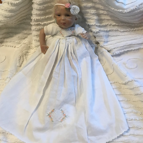 Micro Preemie Gown with Headband