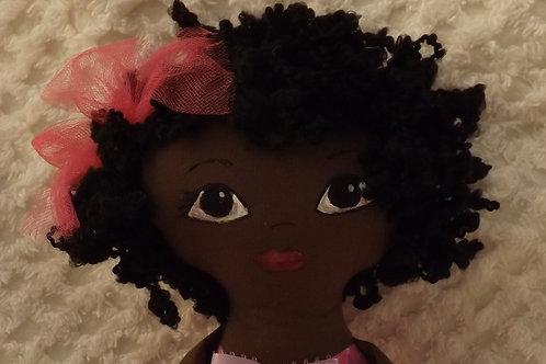 African American Princess Cloth Doll