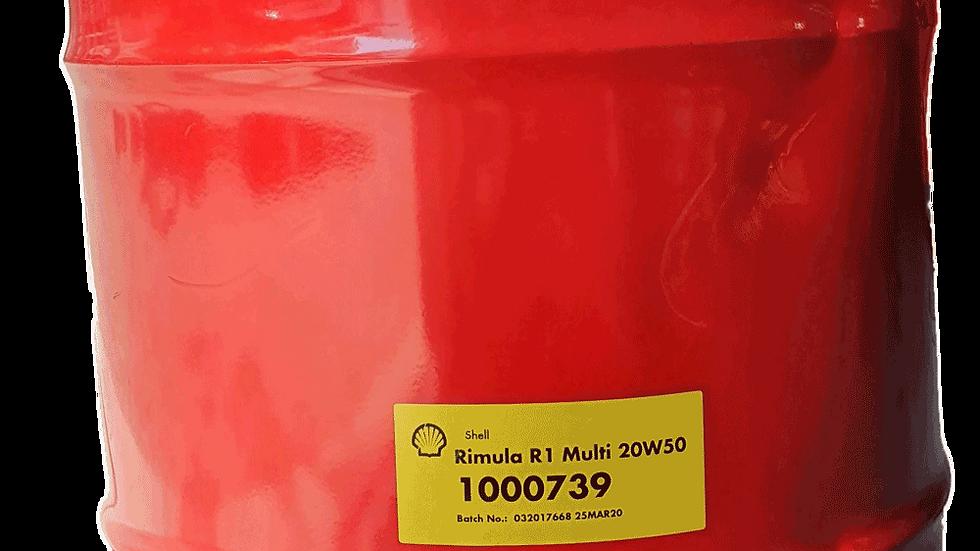 Shell Rimula R1 Multi 20W-50 - 209L