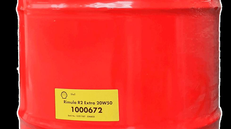 Shell Rimula R2 Extra 20W-50 - 209L