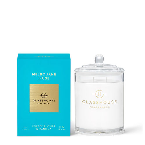 Melbourne Muse - Coffee Flower & Vanilla 380g Soy Candle